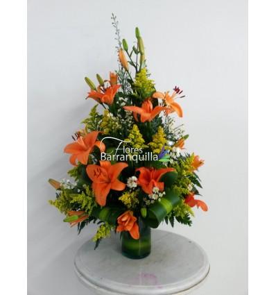 Lirios Naranja