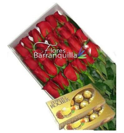 Caja 24 Rosas y ferreos