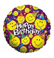 Globo Happy Birthday 002